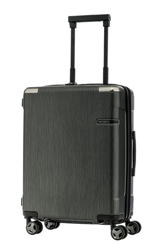Samsonite Evoa Cabin/Carry On 55cm Hard Suitcase Brushed Black