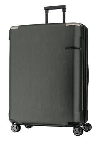 Samsonite Evoa Medium 75cm Hard Suitcase Brushed Black