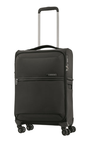 Samsonite 72 Hours Dlx Cabin/Carry On 55cm Black Soft Suitcase