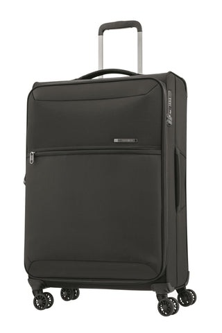 Samsonite 72 Hours Dlx Medium 71cm Black Soft Suitcase