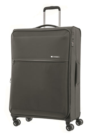 Samsonite 72 Hours Dlx Large 78cm Platinum Grey Soft Suitcase