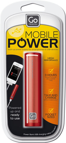 Go Travel Single Power Bank 2000mAh