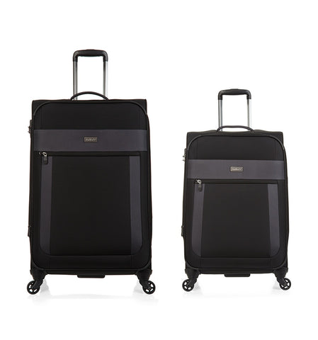 Antler Translite Medium 68cm And Cabin/Carry on 56cm Black Softcase
