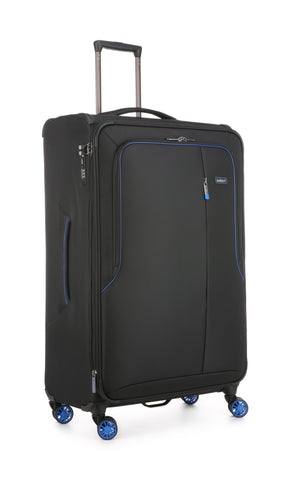 Antler Clarendon Large 82cm Black Soft Suitcase