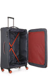 Antler Clarendon Expandable 70cm Medium and 56cm Cabin/Carry On Grey Suitcase Set