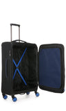 Antler Clarendon Medium 70cm Black Soft Suitcase