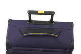 Antler Clarendon Expandable Purple 3 Piece Soft Suitcase Set FREE Go Travel Luggage Scale