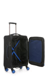Antler Clarendon Cabin/Carry on 56cm Black Soft Suitcase