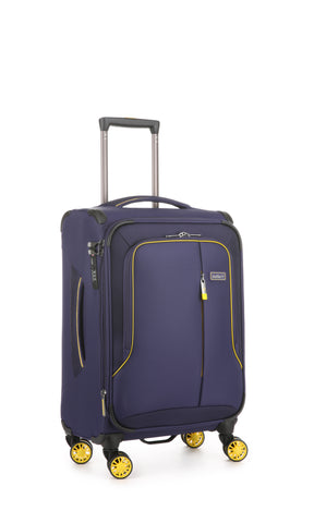 Antler Clarendon Cabin/Carry on 56cm Purple Soft Suitcase