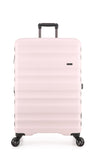 Antler Clifton Large 80cm Pale Pink Expandable Hard Suitcase