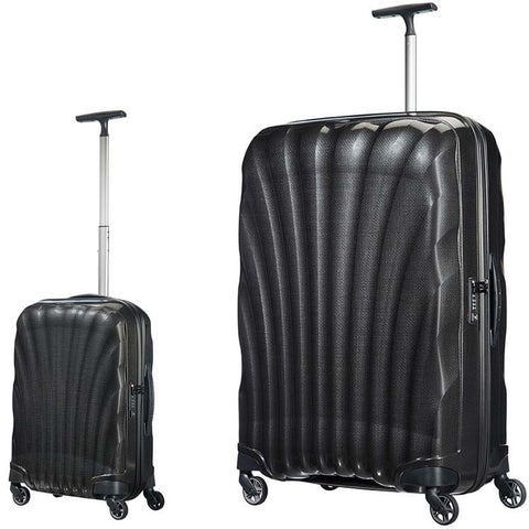 Samsonite Cosmolite 3.0 Large 81cm And Cabin/Carry on 55cm Black Set