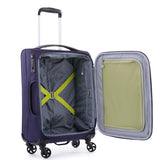 Antler Zeolite 3 Piece Set Purple Softcase