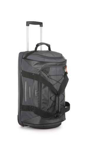 Antler Headingley Medium Trolley Bag Grey/Orange