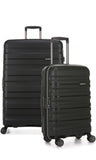 Antler Juno 2 Large 80cm And Cabin/Carry On 56cm Expandable Hardcase Set