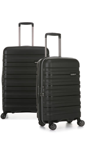 Antler Juno 2 Medium 68cm And Cabin/Carry On 56cm Expandable Hardcase Set