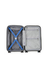 Antler Juno 2 Cabin/Carry On 56cm Blue Expandable Hard Suitcase