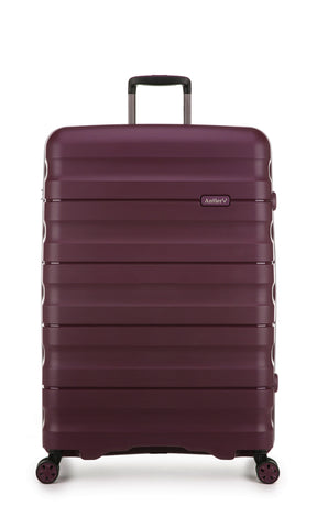 Antler Juno 2 Large 80cm Aubergine Expandable Hard Suitcase case