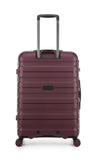 Antler Juno 2 Medium 68cm Aubergine Expandable Hard Suitcase