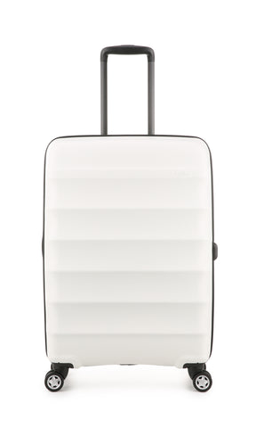 Antler Juno Expander Medium 68cm White Hard Suitcase