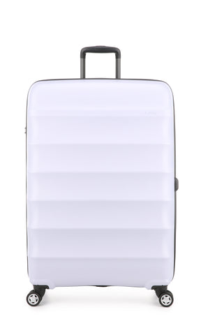 Antler Juno Camber Large 80cm Lilac Expandable Hard Suitcase