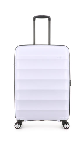 Antler Juno Camber Lilac Medium 68cm Expandable Hard Suitcase