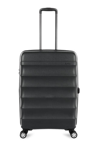 Antler Juno Expander Cabin/Carry On 56cm Black Hard Suitcase