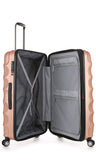 Antler Juno Metallic DLX Rose Gold Expandable Hard Suitcase Set of 3