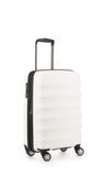 Antler Juno Expander Cabin/Carry On 56cm White Hard Suitcase