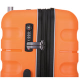 Antler Juno 2 Large 80cm And Cabin/Carry On 56cm Orange Expandable Hardcase Set