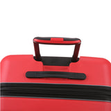 Antler Juno 2 Large 80cm And Cabin/Carry On 56cm Red Expandable Hardcase Set