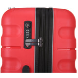 Antler Juno 2 Medium 68cm And Cabin/Carry On 56cm Red Expandable Hardcase Set