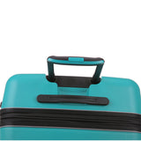 Antler Juno 2 Medium 68cm And Cabin/Carry On 56cm Teal Expandable Hardcase Set