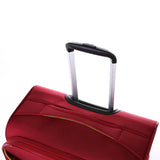 Antler Zeolite Medium 66cm And Cabin/Carry On 56cm Red Softcase Set