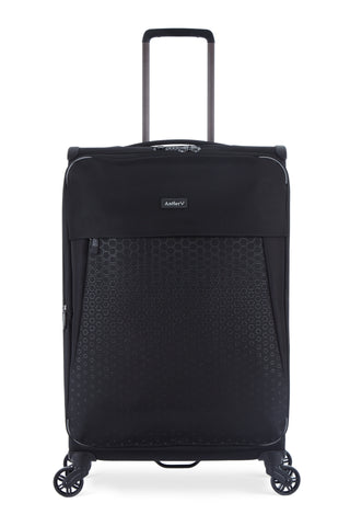 Antler Oxygen Medium 68cm Black Soft Suitcase