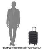 Antler Juno 2 Cabin/Carry On 56cm Black Expandable Hard Suitcase