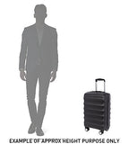 American Tourister Curio Cabin/Carry On 55cm Black Hard Suitcase