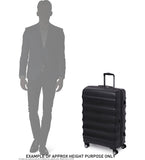 Antler Juno Camber Large 80cm Light Blue Expandable Hard Suitcase