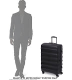 Antler Zeolite Medium 66cm Black Soft Suitcase