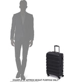 Antler Portland Expandable Medium 69cm Black Suitcase