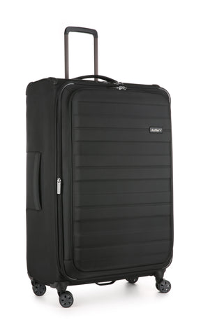 Antler Portland Expandable Large 81cm Black Suitcase