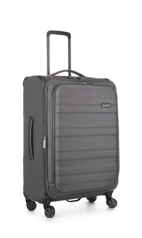 Antler Portland Expandable Medium 69cm Charcoal Suitcase