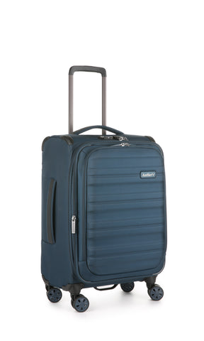 Antler Portland Expandable Cabin/Carry on 56cm Navy Suitcase