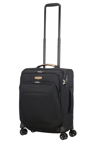 Samsonite Spark SNG ECO Cabin/Carry On 55cm Black Soft Suitcase