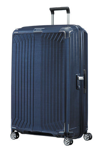 Samsonite Lite-Box 81cm Large Deep Blue Hard Suitcase