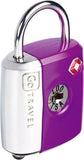 Go Travel Dual Combi/Key TSA Lock Various Colours
