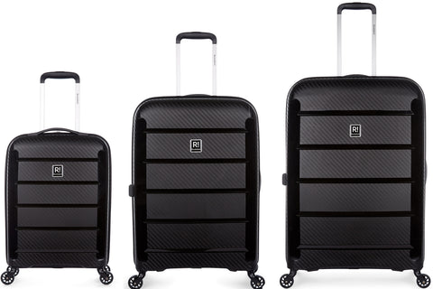 Revelation Tobago 3 Piece Hardcase Black Set