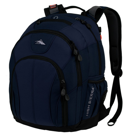 High Sierra Academy Laptop Backpack Navy