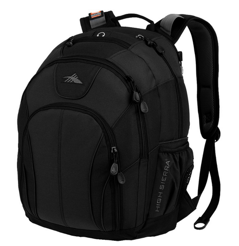 High Sierra Academy Laptop Backpack Black