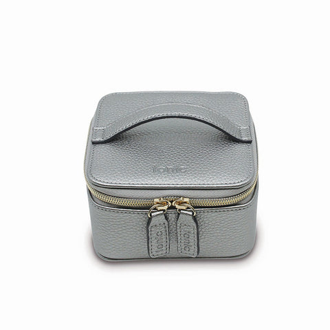 a0574b4e9a5a Tonic Whimsy Ink Essential Hanging Cosmetic Bag. RRP  59.95.  34. Tonic  Luxe Cube Metallic Silver