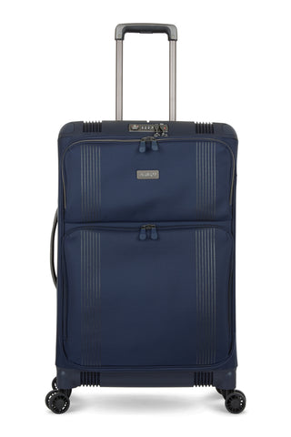 Antler Titus Medium 69cm Navy Hybrid Suitcase